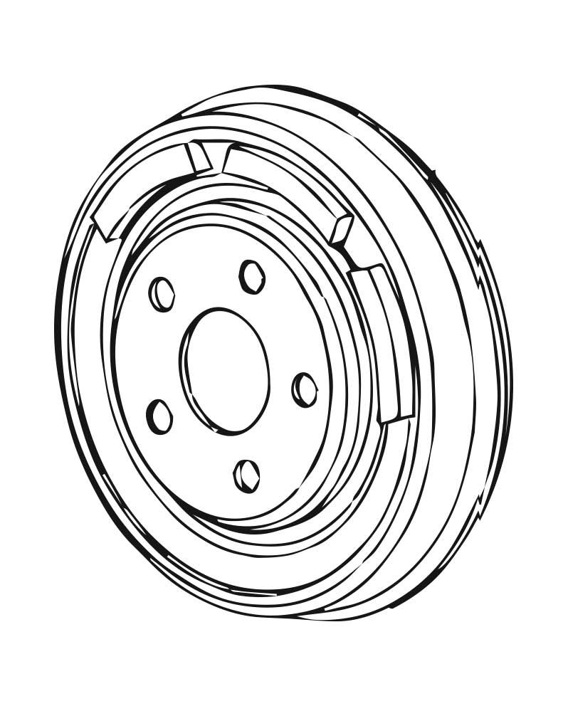 Brake Drums for Subaru Justy