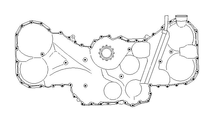 subaru legacy bolt  belt  cover  timing